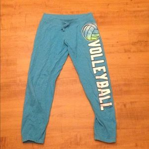 Justice volleyball sweatpants